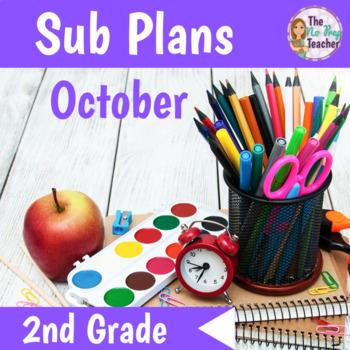 Sub Plans 2nd Grade October