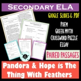 Sub Plans Secondary ELA - Distance Learning - Google Apps