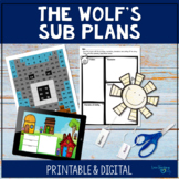 Sub Plans- The True Story of the Three Little Pigs