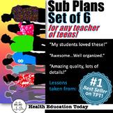 Sub Plans SUPER BUNDLE: 6 Impacting Lessons for Teachers o