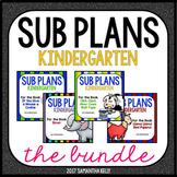 Sub Plans for Kindergarten