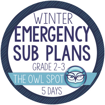Sub Plans for a Week! - Primary Grades (2-3)