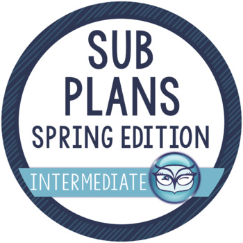 Sub Plans Upper Elementary