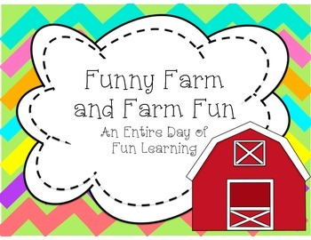 Sub Plans for an entire day Based on the book Funny Farm