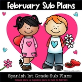 Sub Plans in Spanish for February