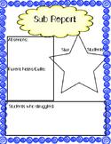 Sub Report (FREEBIE)