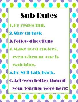 Sub Rules