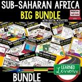 Sub-Saharan Africa BUNDLE (World Geography BUNDLE), Digital Distance Learning