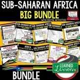 Sub-Saharan Africa BUNDLE (World Geography BUNDLE), Digita