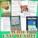 Africa Unit Bundle (Geography)