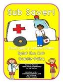 Sub Saver! - Emergency Sub Plans - Splat the Cat: Oopsie-Daisy