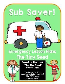 Sub Saver! - Emergency Sub Plans - The Tiny Seed