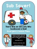 Sub Saver! - Emergency Sub Plans - There Was An Old Lady Who Swallowed a Shell