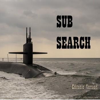 Sub Search - Editable Version