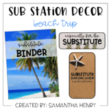 Sub Station Decor - Beach Theme