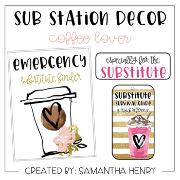 Sub Station Decor - Coffee Lover