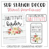 Sub Station Decor - Farmhouse Floral