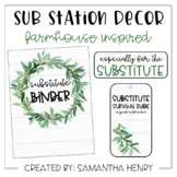 Sub Station Decor - Farmhouse Inspired