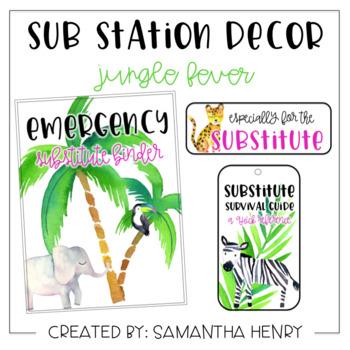 Sub Station Decor - Jungle