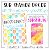 Sub Station Decor - Oh, The Places You'll Go!