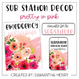 Sub Station Decor - Pretty in Pink