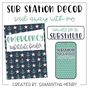 Sub Station Decor - Sail Away With Me