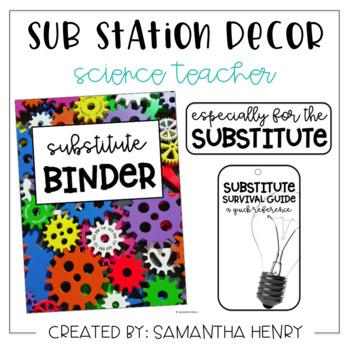 Sub Station Decor - Science/STEM