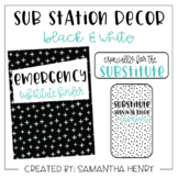 Sub Station Decor Set - Black & White