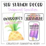 Sub Station Decor - Tropical Teacher