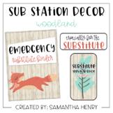 Sub Station Decor - Woodland