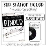"Sub Station Decor - ""music teacher"""