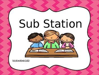Sub Station (Editable)