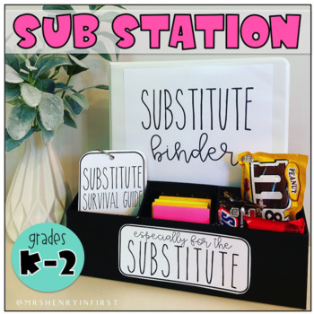 *Sub Station Kit* - Grades K-2 (for the Substitute)