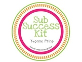 Sub Success Kit for Substitute Teachers