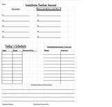 Sub Teacher Form