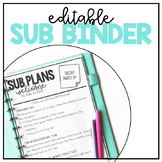 Sub Binder templates- editable