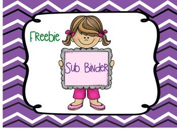 Sub Tub Binder FREEBIE