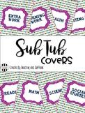 Sub Bin Covers FREEBIE