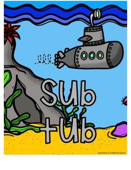 Sub Tub Cover Page {{FREEBIE}}