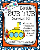 Sub Tub Editable Quick Plans
