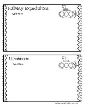 Sub Tub Editable Quick Plans