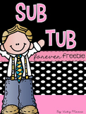 Sub Tub * FREEBIE*