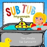Sub Tub: For the Unexpected! (Programmable)