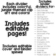 Editable Substitute Binder { Jungle } The Ultimate Sub Binder Guide