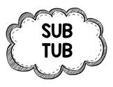 Sub Tub Label {FREEBIE}