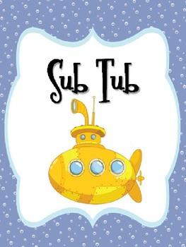 Sub Tub Ocean Theme