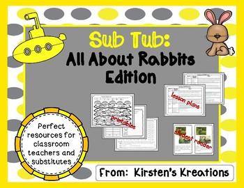 Sub Tub:  Rabbit Edition