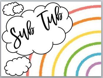 Sub Tub Rainbow