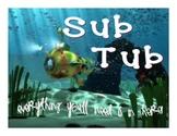 Sub Tub Sign