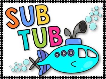 Sub Tub & Substitute Binder Printables & Resources